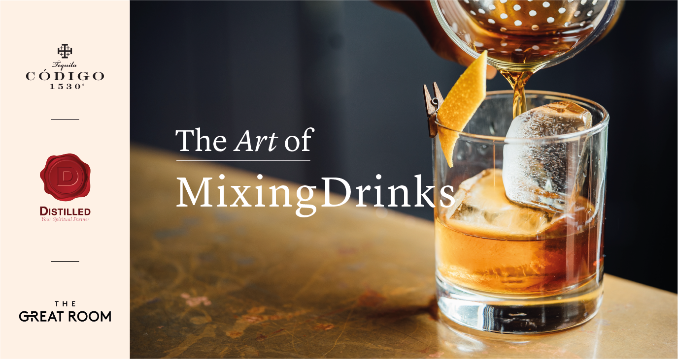 The Art of Mixing Drinks eDM-02